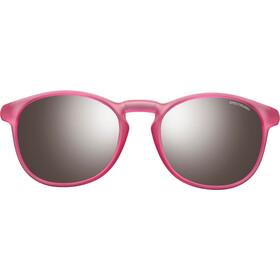 Julbo Fame Spectron 3+ Sunglasses 10-15Y Kids, matt translucent pink-gray flash silver